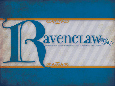 For you Ravenclaws in the pagtitip. tonight (: