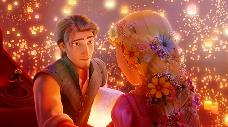 Tangled? It's a modern Rapunzel story. Very cute <3