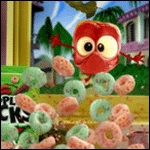 mansanas Jacks is my paborito breakfast cereal :D This is Apple, from the old ads. Good times...