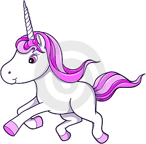 Everyone loves unicorns! Except this one. It's unacceptable. All girly and prancing...WHO, just WH