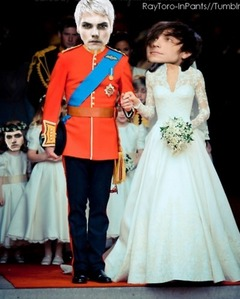 Hmm... Well I guess there is one version of the Royal Wedding I like... FRERARD STYLE :D