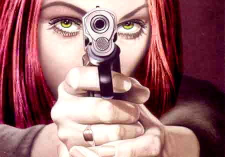 Me: Woohoo woman power.
