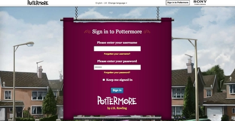 A little FYI when going onto Pottermore. Even if anda get the Quill and you're telah diberi a username, anda
