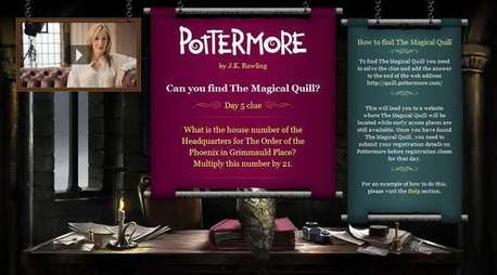 never mind: http://www.snitchseeker.com/harry-potter-news/fifth-clue-of-pottermores-magical-quill-cha