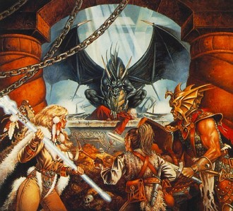 This one is by Clyde Caldwell and I found it [url=http://step.polymtl.ca/~coyote/dragonlance_vilains.