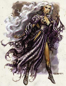 This witch is by Lockwood, and I found it here: http://shadowfoot.blogspot.com/2004/05/witchdd-core-c