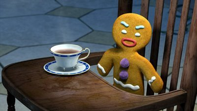 Who doesn't love Shrek? And Gingy is the best! Artist: Dreamworks Animation Found it at: http://www.h