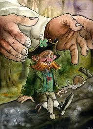 Sorry! :) This Leprechaun is by Richard Svensson on ELFWOOD Next: dragon with 4 wings