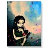 Merry Christmas people! This Phersephone is by Jasmine Becket Griffith on ELFWOOD. Next:Loch Ness Mon