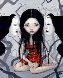 I found this one on ARTwanted.com by Jasmine Becket-Gryffith, again! This is bassed on some japanese