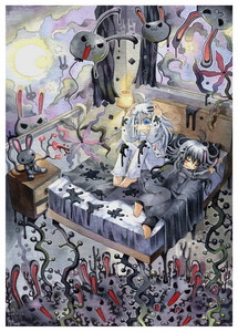 This image [called Insomnia] is by emperpep on Deviantart [real name unknown] and I found it here:  h