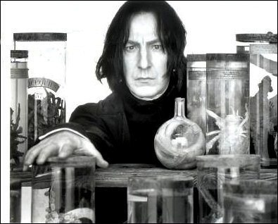 Found him amazing and beautiful in the first movie (thanks to the wonderful Alan Rickman) Then read t