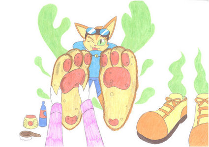 That's hilarious Buck7. I'm Blinx. (I RP as him, he is a video game cat) Here's a story. After I fin