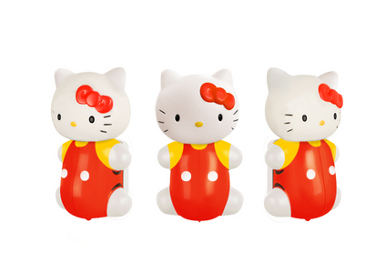 Image of the classic Hello Kitty toothbrush holder is below