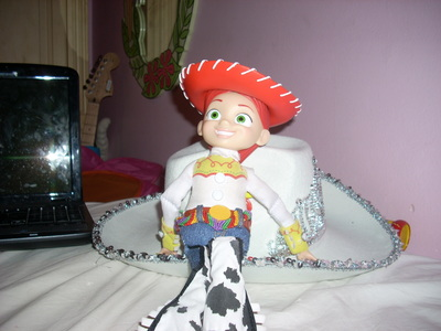 I'll just post a picture of the doll. It's just a picture that was on my computer.