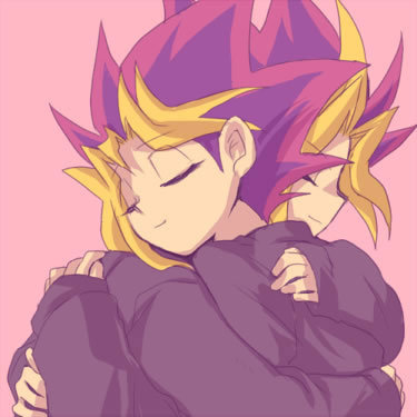 Yugi and Yami<3