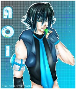 Info Vocaloid Name: Aoi (Blue) still searching for surname lol Gender: male Age: 24 Number: 24 Hair C