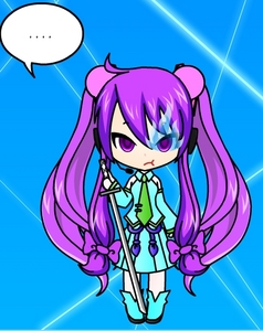 Vocaloid Name: eilly Gender: girl Age: 18 Number: 185 Hair Color and Style: long like miku's and hair