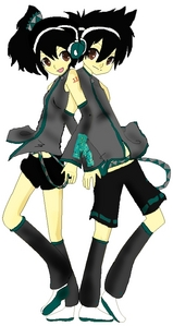 Info:  Vocaloid Name/s : Shita and Ue Torine  Gender/s : female (Shita) and male (Ue)  Age/s : 15 yrs