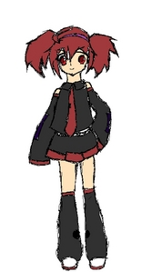 Mah Vocaloid!  Name: Stella Amane Gender: Female Age: 12 Number: 65 Hair color and style: Old Red twi