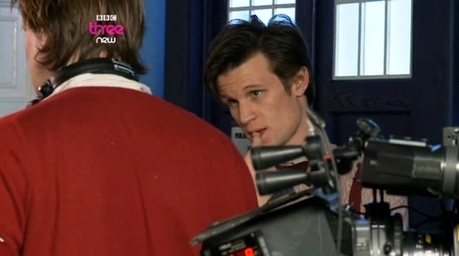 and this was before their kiss - look at matt he looks so nervous! aww :)