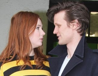 Here we talk about what we think about matt smith and karen gillan....