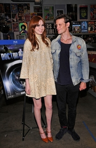 Matt and Karen at a dvd signing in San Diego
