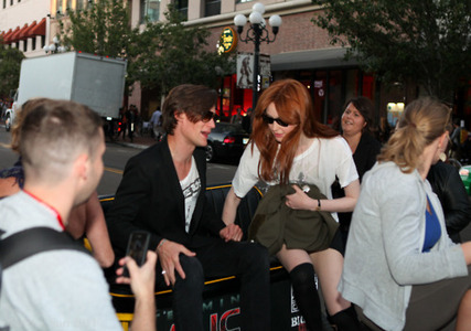 Matt and Karen in L.A 22/7/11