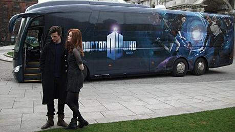 Look at this picture of them on the Doctor Who tour last year (2010):