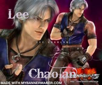 My favorite character Lee Chaolan is soo hot! I also got him as my result for a tekken boyfriend quiz