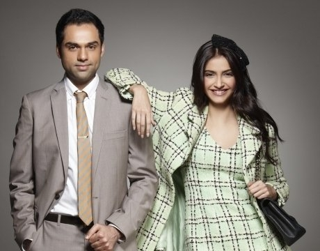 [Sonam Kapoor and Abhay Deol as Emma Woodhouse and Mr. Knightley] AISHA The timing could no
