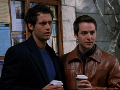 A scene from the pilot episode of gilmore girls
