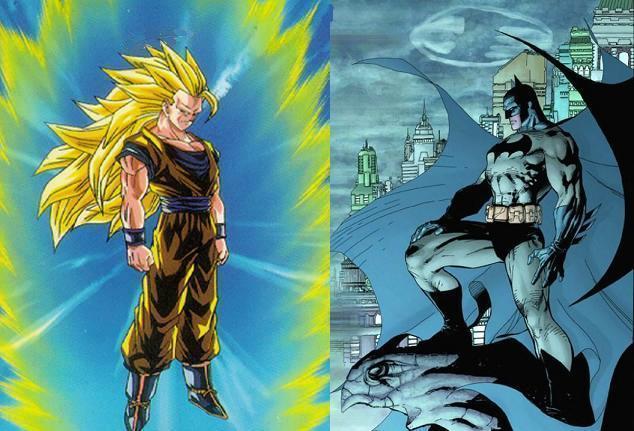 Batman With Years Of Prep Time Vs Super Saiyan 3 Goku
