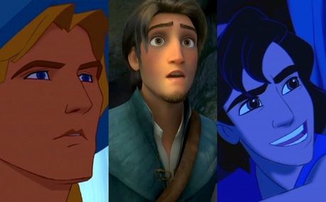 1. John Smith 2. Flynn 3. aladdin Probably...!