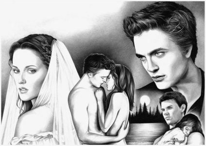i found this one & it looks amazing for breaking dawn art