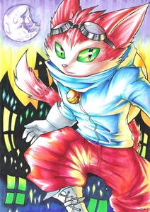 Cool. Hope 당신 have fun rollplaying as Shade The Hedgehog. I RP as Blinx The Time Sweeper. He's aweso