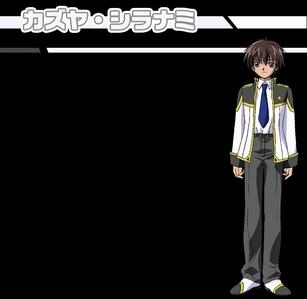 Kazuya Shiranami from galaxy angel
