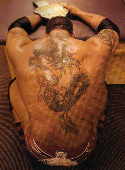 batista dragon tatoo