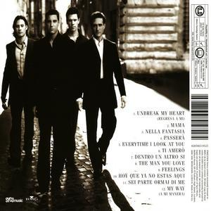 Lyrics from the first cd il divo il divo fanpop for Il divo cd