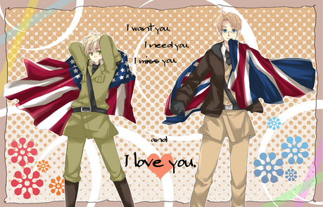 I waaaaaaaaant... Alfred and Arther from Hetaila Axis Powers! <3