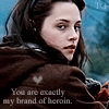 Mine :3 Edward is Bella's brand of heroin =3