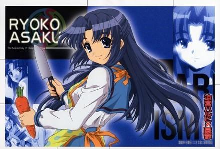 Ryoko Asakura from The Melancholy Of Haruhi Suzumiya
