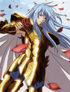 Pisces Albafica from Saint Seiya: The Lost Canvas.
