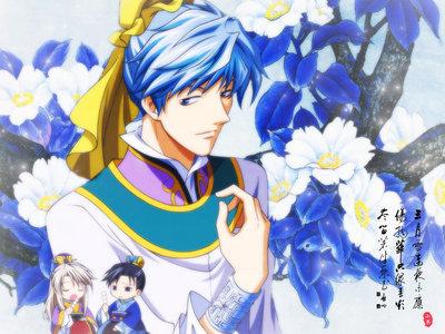 Riku Seiga from Saiunkoku Monogatari II.