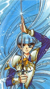 Ryuuzaki Umi from Magic Knight Rayearth.