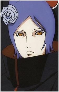 Konan from Naruto Shippuuden