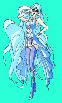 Sailor Aluminium Siren from Sailor Moon.