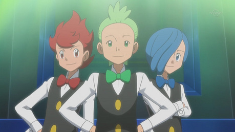 Cress from Pokemon (Obviously the blue haired one)