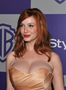 Did you know I totally agree? That's why I don't like just adding anyone. Christina Hendricks is an a