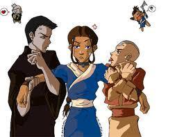 I think there both a good match i mean katara and zuko both Lost there mother. Aang and katara both l